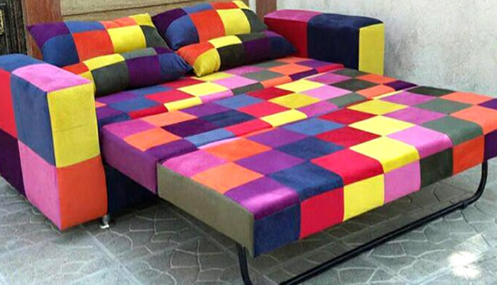 مدل کاناپه تختخوابشو